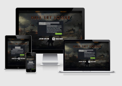 Helllet Loose Game Site